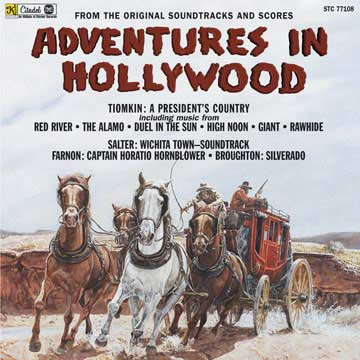 Adventures in Hollywood cover